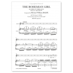 I DREAMT THAT I DWELT IN MARBLE HALLS THE BOHEMIAN GIRL