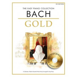BACH GOLD THE EASY PIANO COLLECTION