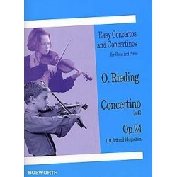 Partition CONCERTINO IN G OP.24 Oscar Rieding