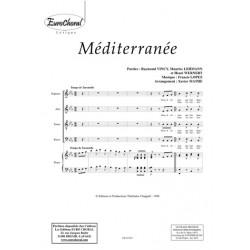 Sheet music MÉDITERRANNÉE (SATB) Francis LOPEZ