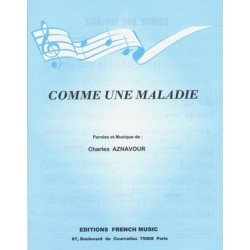 COMME UNE MALADIE Charles Aznavour