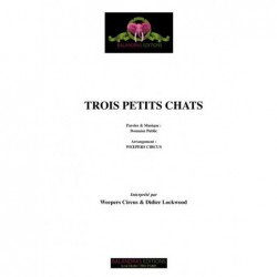 Partition TROIS PETITS CHATS WEEPERS CIRCUS