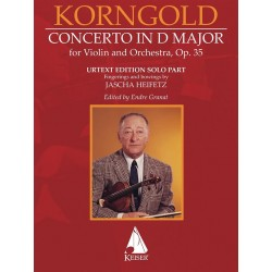 CONCERTO IN D MAJOR OP.35 Erich Korngold