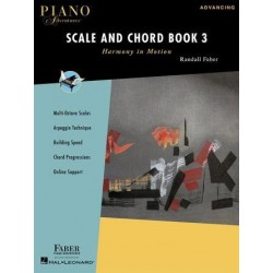 Partition PIANO ADVENTURES SCALE AND CHORD BOOK 3