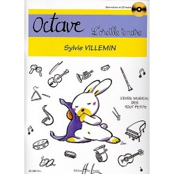 OCTAVE L'OREILLE TENDRE (+ CD)