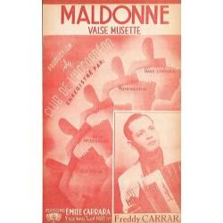 MALDONNE (valse musette)