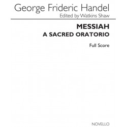 MESSIAH - A SACRED ORATORIO