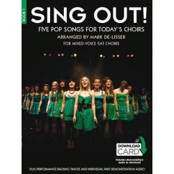 SING OUT ! 5 POP SONGS FOR TODAY'S CHOIRS - BOOK 1