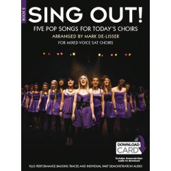 SING OUT ! 5 POP SONGS FOR TODAY'S CHOIRS - BOOK 2
