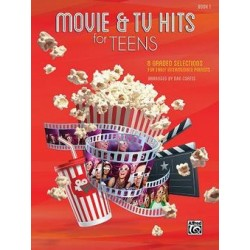 MOVIE & TV HITS FOR TEENS - BOOK 1