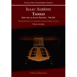 TANGO ISSU DE LA SUITE ESPANA OP.165