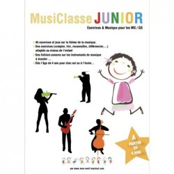 Partition MUSICLASSE JUNIOR (Éveil Musical)