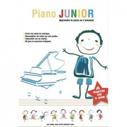 Partition PIANO JUNIOR (Éveil Musical)