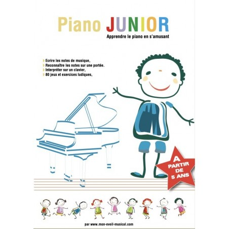 PIANO JUNIOR (Éveil Musical)