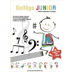 Partition SOLFÈGE JUNIOR (Éveil Musical)