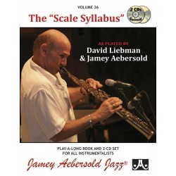 AEBERSOLD VOL.26 - THE SCALE SYLLABUS (+CD)