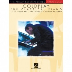 Partition COLDPLAY FOR CLASSICAL PIANO - 14 OF THEIR BEST