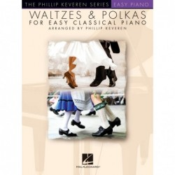 Partition WALTZES & POLKAS FOR EASY CLASSICAL PIANO