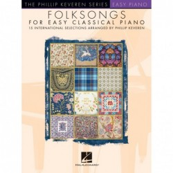 Partition FOLKSONGS FOR EASY CLASSICAL PIANO