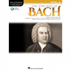 Partition THE VERY BEST OF BACH - VIOLA