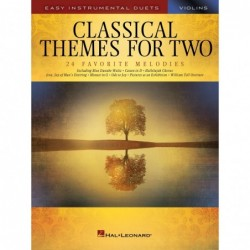 Partition CLASSICAL THEMES FOR TWO VIOLINS