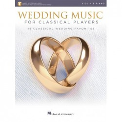 Partition WEDDING MUSIC FOR CLASSICAL PLAYERS - VIOLIN
