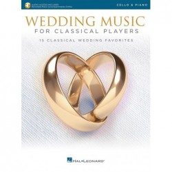 Partition WEDDING MUSIC FOR CLASSICAL PLAYERS - CELLO