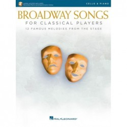 Partition BROADWAY SONGS FOR CLASSICAL PLAYERS - CELLO