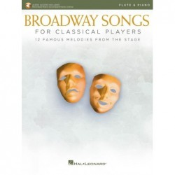 Partition BROADWAY SONGS FOR CLASSICAL PLAYERS - FLUTE