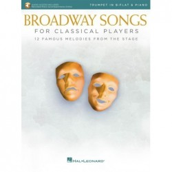 Partition BROADWAY SONGS FOR CLASSICAL PLAYERS -TRUMPET