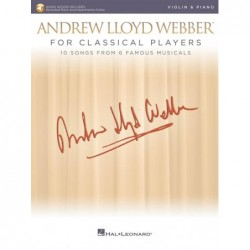 Partition ANDREW LLOYD WEBBER FOR CLASSICAL PLAYERS - VIOLIN