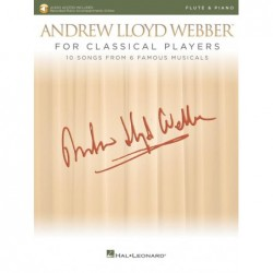 Partition ANDREW LLOYD WEBBER FOR CLASSICAL PLAYERS - FLUTE