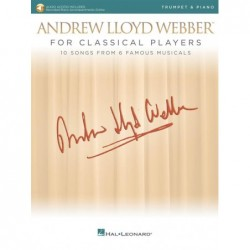 Partition ANDREW LLOYD WEBBER FOR CLASSICAL PLAYERS - TRUMPET