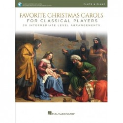 Partition FAVORITE CHRISTMAS CAROLS FOR CLASSICAL PLAYERS - FLUTE