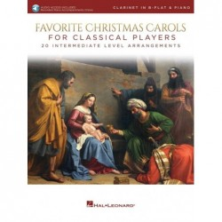 Partition FAVORITE CHRISTMAS CAROLS FOR CLASSICAL PLAYERS - CLARINET