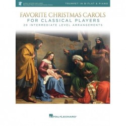 Partition FAVORITE CHRISTMAS CAROLS FOR CLASSICAL PLAYERS - TRUMPET