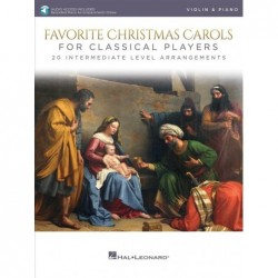 Partition FAVORITE CHRISTMAS CAROLS FOR CLASSICAL PLAYERS - VIOLIN