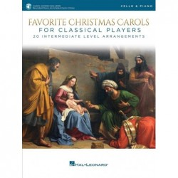 Partition FAVORITE CHRISTMAS CAROLS FOR CLASSICAL PLAYERS - CELLO