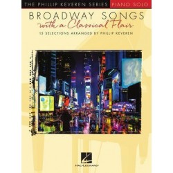 Partition BROADWAY SONGS WITH A CLASSICAL FLAIR