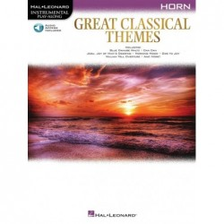 Partition GREAT CLASSICAL THEMES - HORN
