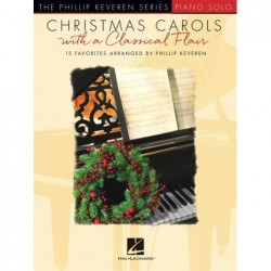 Partition CHRISTMAS CAROLS WITH A CLASSICAL FLAIR