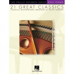 Partition 21 GREAT CLASSICS - CLASSICAL MASTERWORKS