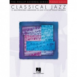 Partition CLASSICAL JAZZ - 15 MASTERWORKS IN JAZZ STYLE