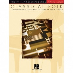 Partition CLASSICAL FOLK - 15 INTERNATIONAL FOLKSONGS