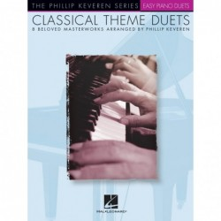 Partition CLASSICAL THEMES DUETS