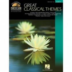 Partition GREAT CLASSICAL THEMES VOL.97 (+CD)