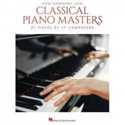 Partition CLASSICAL PIANO MASTERS - UPPER ELEMENTARY