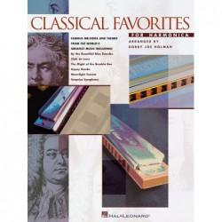 Partition CLASSICAL FAVORITES FOR HARMONICA