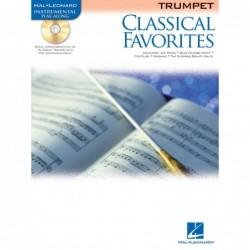 Partition CLASSICAL FAVORITES - TRUMPET (+CD)
