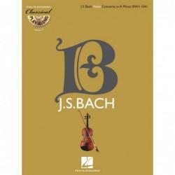 Partition VIOLIN CONCERTO IN A MINOR BWV 1041 (+CD)